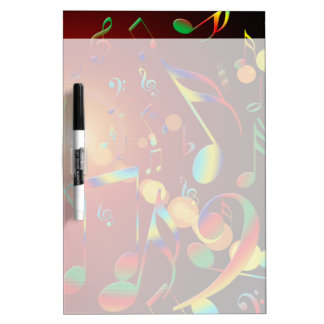 Dancing Musical Notes Dry-Erase Boards