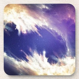 Dancing Nebula Beverage Coaster