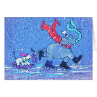 Dancing on Ice Greeting Cards