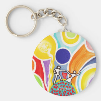 Dancing On Moonbeams Keychain