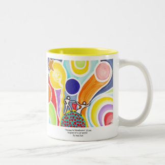 Dancing On Moonbeams Two-Tone Coffee Mug