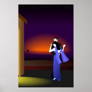 Dancing on the Veranda Poster
