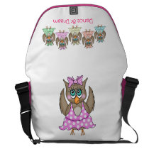 Dancing Owls Bag
