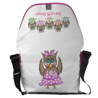 Dancing Owls Bag Courier Bag