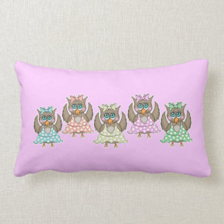 Dancing Owls Pillow