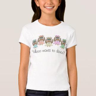 Dancing Owls T-shirt