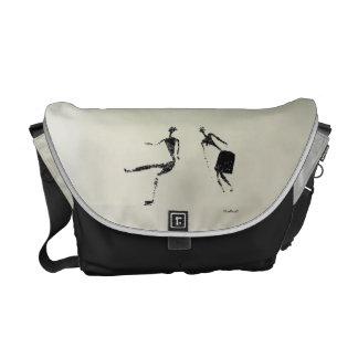Dancing Pair Courier Bag