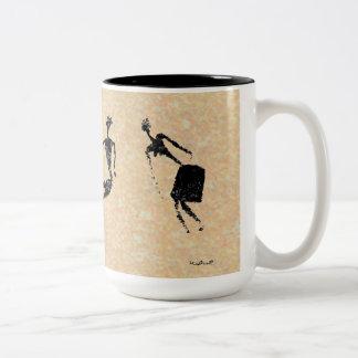 Dancing Pair Two-Tone Coffee Mug
