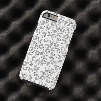 Dancing Pandas Pattern Illustration Tough iPhone 6 Case
