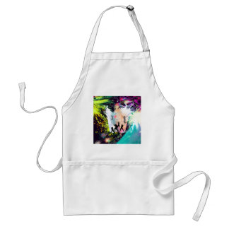 Dancing party adult apron
