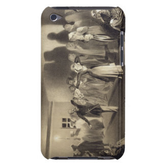 Dancing Party at Kagha-Choura, Dagestan, plate 55 Barely There iPod Case