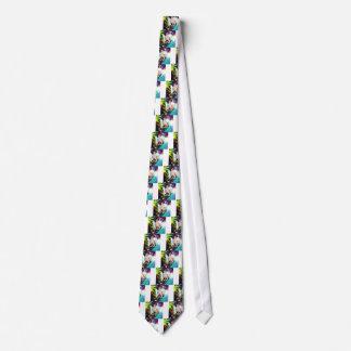 Dancing party neck tie