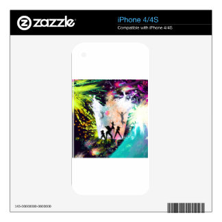 Dancing party skin for iPhone 4
