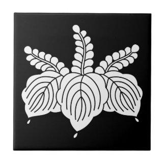 Dancing paulownia ceramic tile