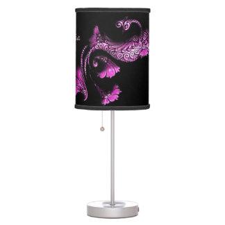 Dancing Peacock Lamp