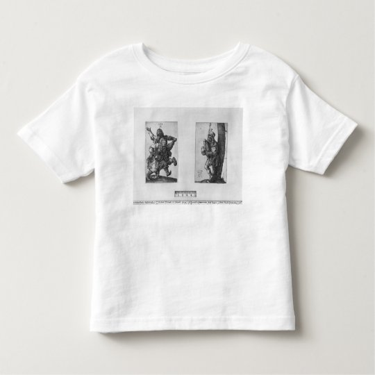 Dancing Peasants and a Bagpipe Player, 1514 Toddler T-shirt