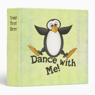 Dancing Penguin Binder