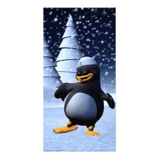 Dancing Penguin Card