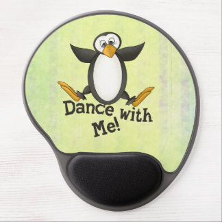 Dancing Penguin Gel Mouse Pad