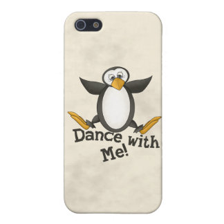Dancing Penguin iPhone 5/5S Cover