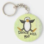Dancing Penguin Key Chains