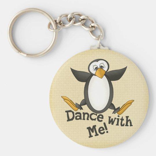 Dancing Penguin Keychain