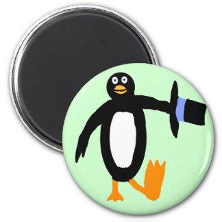 Dancing Penguin Magnet