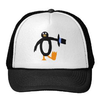 Dancing Penguin Trucker Hat