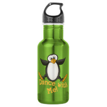 Dancing Penguin Water Bottle