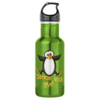 Dancing Penguin Water Bottle