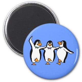 Dancing Penguins Magnet