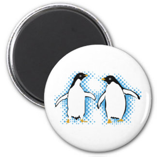 Dancing Penguins Magnet