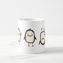 Dancing Penguins - Mug
