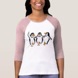 Dancing Penguins T-shirt at Zazzle