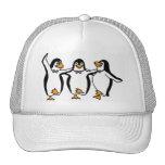 Dancing Penguins Trucker Hat