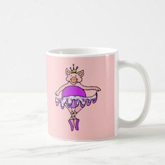 Dancing Pig in Tutu Coffee Mug