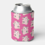 Dancing Pig Repeat Pattern Can/Bottle Cooler Can Cooler
