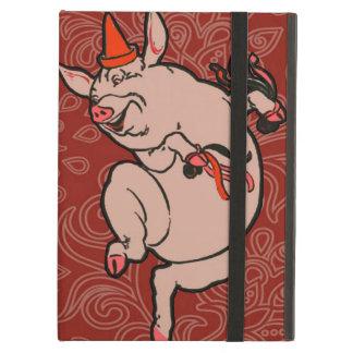 Dancing Pig Vintage Cute Dancer iPad Air Case