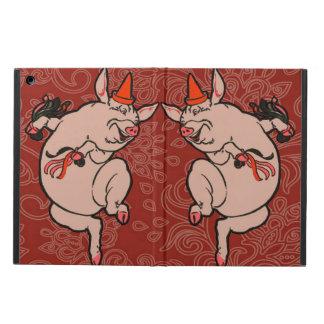 Dancing Pig Vintage Cute Dancer iPad Air Covers