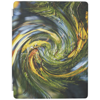 Dancing Pine Needles iPad Smart Cover