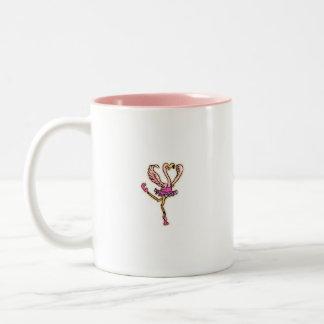 Dancing Pink Flamingo cup