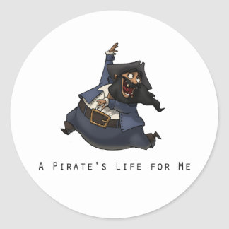 Dancing Pirate Stickers