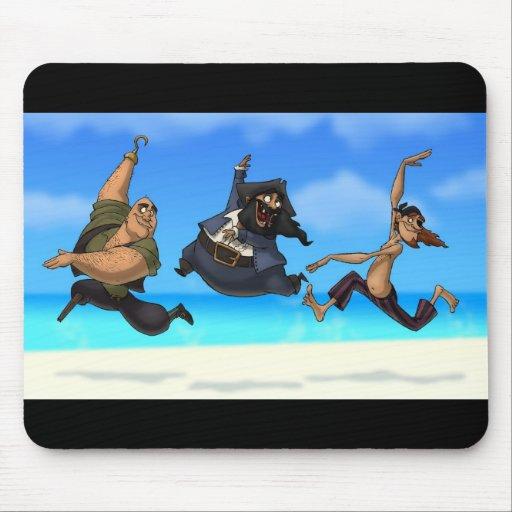 Dancing Pirates Mousepad