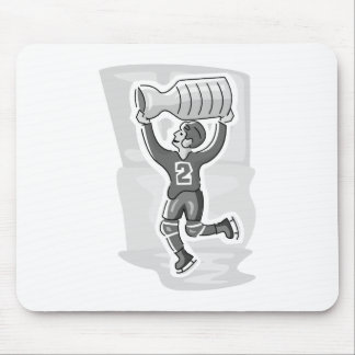 Dancing player with cup mouse pad