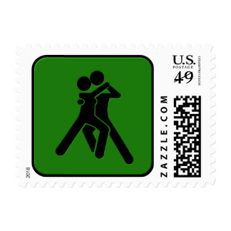 Dancing Postage Stamp