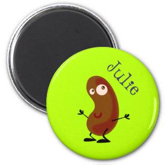 Dancing Potato 2 Inch Round Magnet