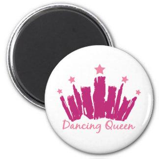 Dancing Queen 2 Inch Round Magnet