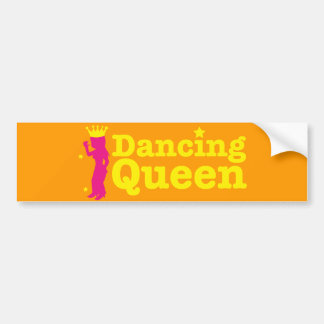 Dancing Queen Etiqueta De Parachoque