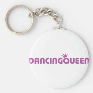 dancing queen icon keychain