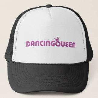 dancing queen icon trucker hat